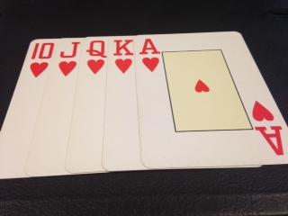 Las manos ganadoras del póquer