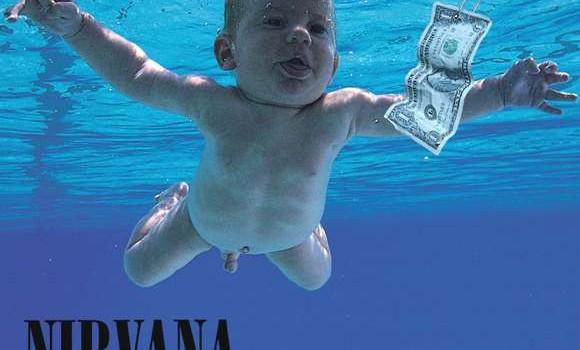 Portada de Nevermind de Nirvana