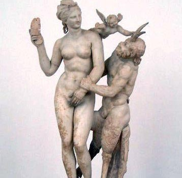 Afrodita, Pan y Eros. Imagen by Laurascudder