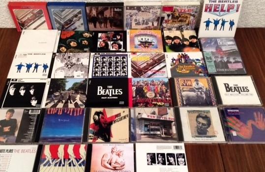 Colección CD Beatles