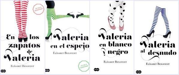 Saga Valeria, la novela romántica se reinventa