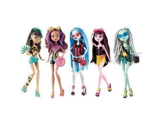 Muñecas de Monster High, un buen regalo para niñas