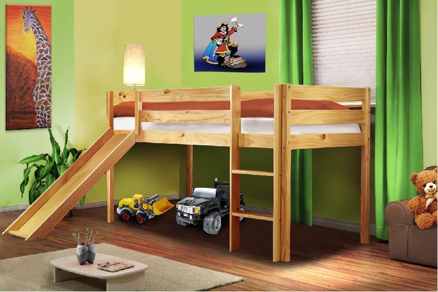 Ahorrando espacio en la habitación de los niños