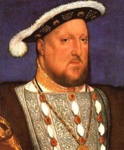 Enrique VIII en pintura de la época