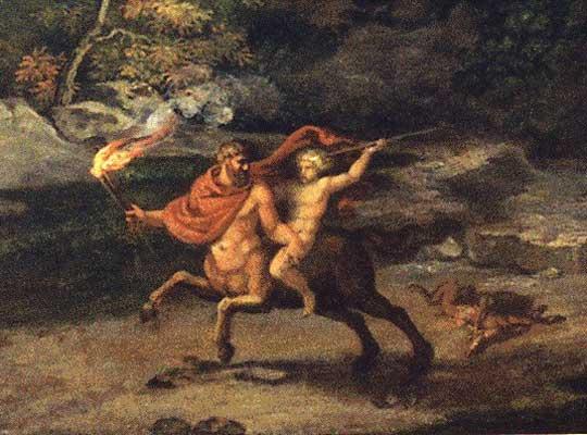 Quirón en el mito y en la astrología