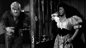 Lon Chaney Jr. y Elena Verdugo - Imagen by Universal Pictures