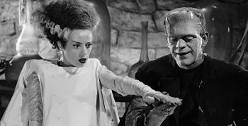 Escena de 'La novia de Frankenstein1