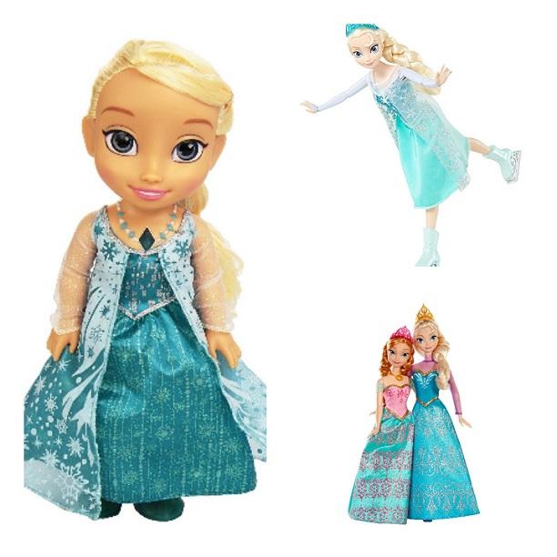 Guía y precios de muñecas Frozen Disney para Navidades 2016 / 2017