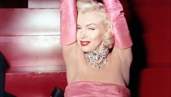 """Marilyn Monroe en """"Los caballeros las prefieren rubias"""""""