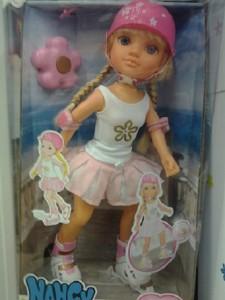 Nancy patinadora es una colección más popular