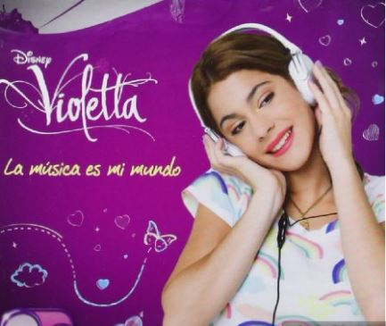 Regalar productos de Violetta