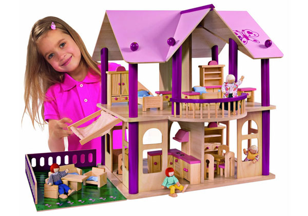 Las mejores casas de mu ecas de juguete - Las mejores casas de madera ...
