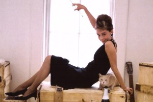 """Audrey Hepburn en """"Desayuno con diamantes"""""""