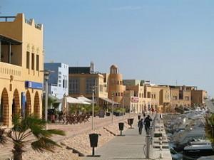 Ciudad de Hurghada Egipto África