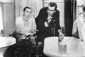 """Jack Lemmon y Walter Matthau en una imagen del film """"En bandeja de plata"""""""