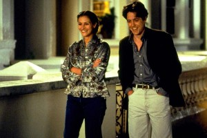 "Julia Roberts y Hugh Grant en ""Notting Hill"""
