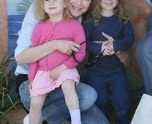 Marcia Croos, madre a los 45 años