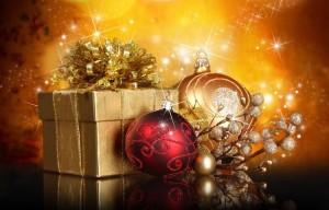 Decoración navideña. Imagen libre derechos