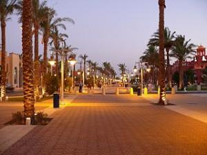 Paseo de Hurghada Egipto