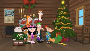 Phineas y Ferb en Navidad con Perry