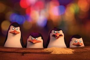 """Secuencia de la película """"Los pingüinos de Madagascar""""."""