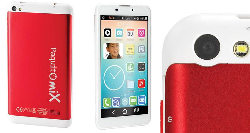 Paquito Mix, el smartphone – tablet para niños de Imaginarium