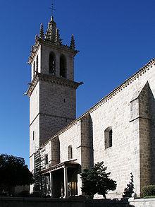 Basílica Torre Gótica (Colmenar Viejo). Imagen de la Wikimedia