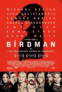 La oscarizada película Birdman - Cartel del filme