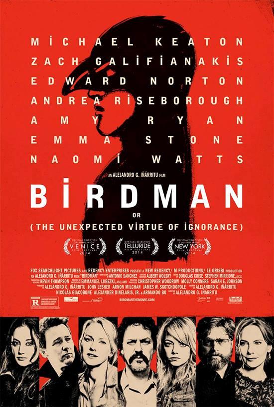 """Óscar 2015: Lista de ganadores. """"Birdman"""", Mejor Película"""