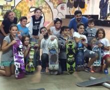 Clase de skate en Nivel 1Skate Park Indoor