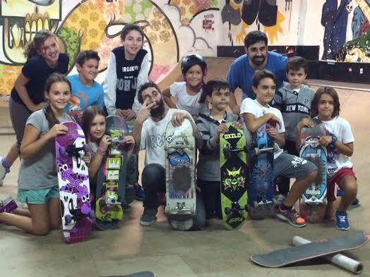 Nivel 1, el Skatepark Indoor que apuesta por los niños
