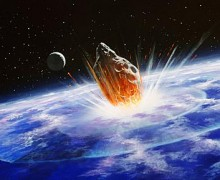 Colision de un objeto contra la Tierra