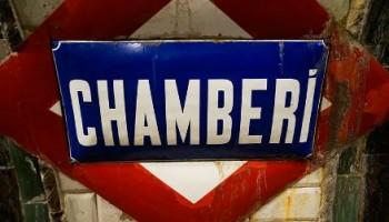 Estación de Chamberí mia