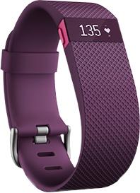 Fitbit Charge HR, Pulsera running deportiva con pulsímetro, medición pulsaciones cardíacas