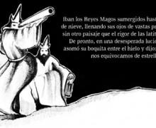 Ilustracion de los Reyes Magos