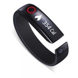 LG LIFEBAND TOUCH: pulsera running con altímetro y monitorización de pulsaciones cardíacas