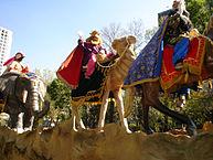 Los Reyes Magos, los protagonistas de la cabalgata