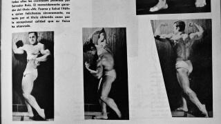 """Salvador Ruiz en 1969 en la revista """"Las Pesas"""""""