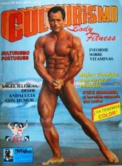 Portada de Culturismo Bodyfitness protagonizada por Salvador Ruiz en 1985