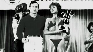 Salvador Ruiz y Paloma Ramos, en el Trofeo Olimpia 1982. Foto gentileza de Salvador Ruiz.