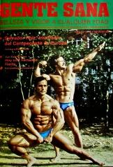 """Salvador Ruiz y Anibal López, campeonato del Mundo 1978. Cubierta revista """"Gente Sana"""", digitalización Agencia Febus."""