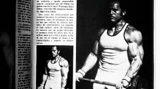 """Salvador Ruiz, entrenando en el gimnasio Olimpia, 1978.  Revista """"Gente Sana"""", digitalización Agencia Febus."""
