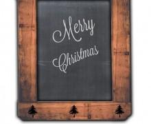 Pizarra Feliz Navidad