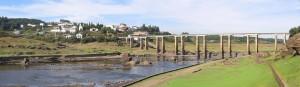 Vista panorámica de Portomarín