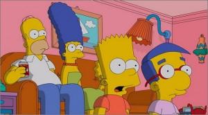Los Simpsons se emiten en Antena 3