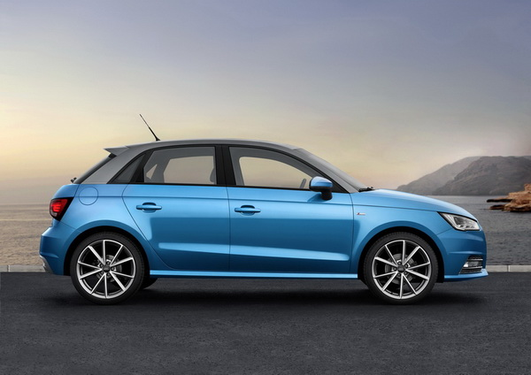 Imagen del nuevo modelo Audi A1 Sportback