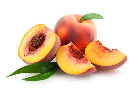 Melocotón. Fruta saludable