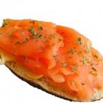 Receta sandwich de salmon ahumado