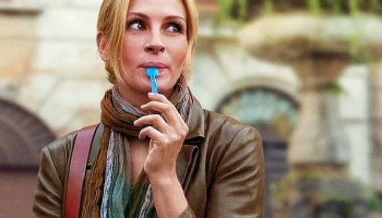 Frozen Yogurt Julia roberts eating