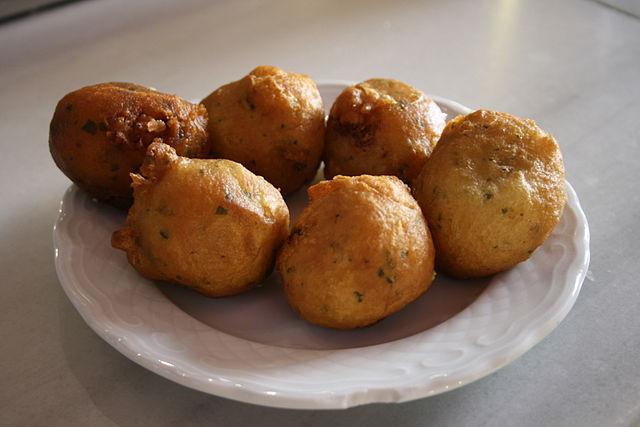 Buñuelos de bacalao: recetas de carnaval y Semana Santa